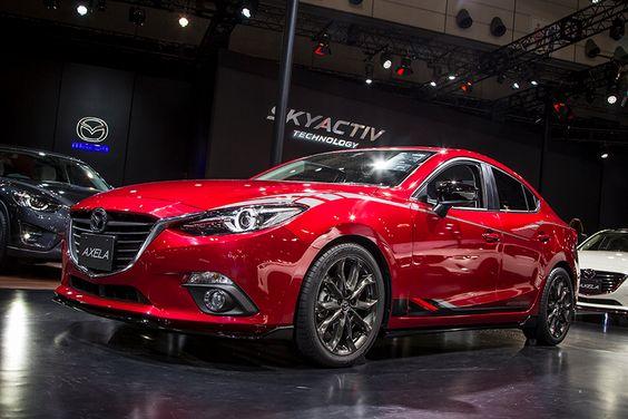 "The KODO: ""Soul of Motion"" design language creates dynamic motion with a sense of life... #Mazda #Axela"