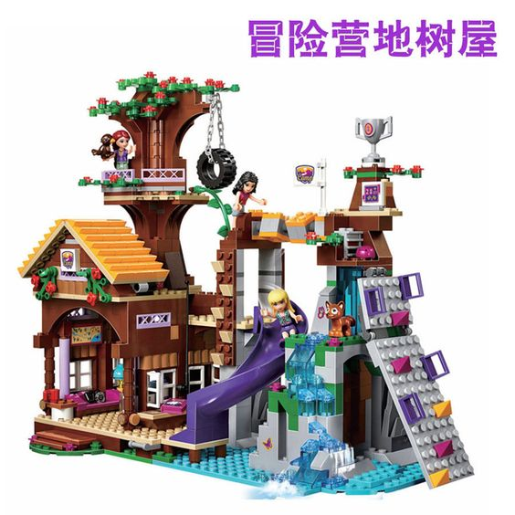 Friends Adventure Camp Tree House Sets building toys 739pcs fit lego 10497 https://t.co/VcfJYhExFD https://t.co/nuvvqFqers