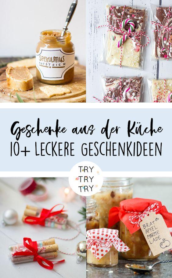 Für Naschkatzen: 10 Geschenke aus der Küche | Einmachen süß ...
