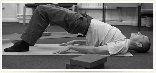 Yoga classes in prison by The Prison Phoenix Trust.