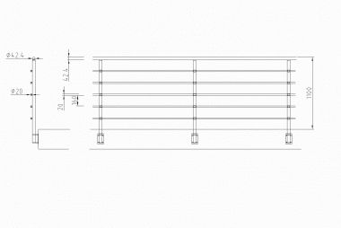 EXPO INOX s.p.a. - PRODOTTI / kitinox / parapetti e balconi / kitinox