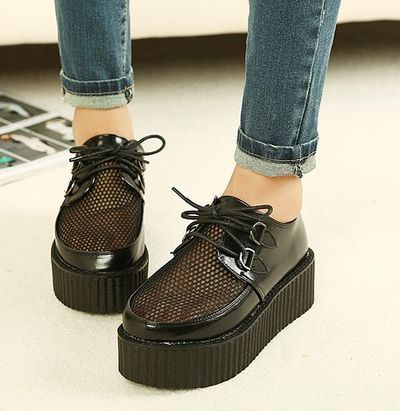 Fishnet creepers .