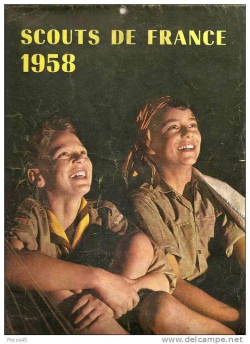 Scouts de France calendrier 1958