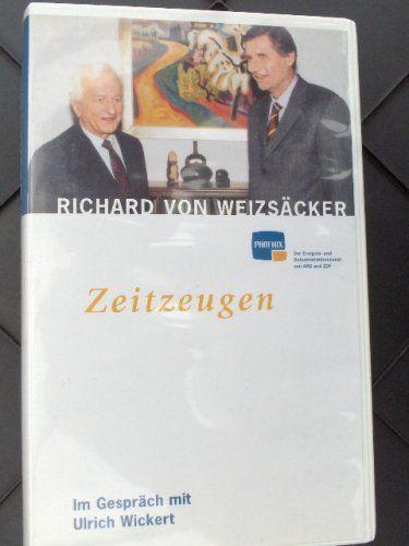 Zeitzeugen - Richard von Weizsäcker im Gespräch mit Ulric... https://www.amazon.de/dp/B001EP2X8M/ref=cm_sw_r_pi_dp_Ol0sxbHKW83SZ