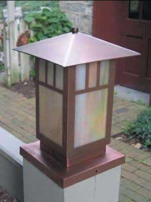 hadco gadl61 gadl62 mission style low voltage copper. Black Bedroom Furniture Sets. Home Design Ideas