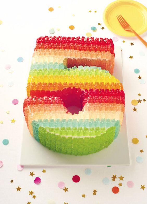 gumene medvediky na torte