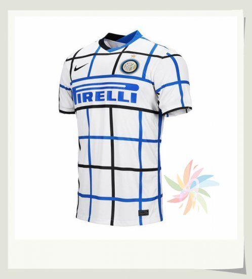Inter Milan Seconda Maglia 2020 2021 Bianca | Inter milan, Maglia ...