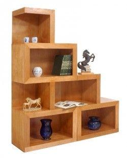 Libreros de madera dise o modernos minimalistas for Diseno de muebles de madera modernos