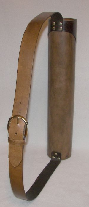 Medieval Leather Quiver How to Project | Obsessions ...  Medieval Leathe...