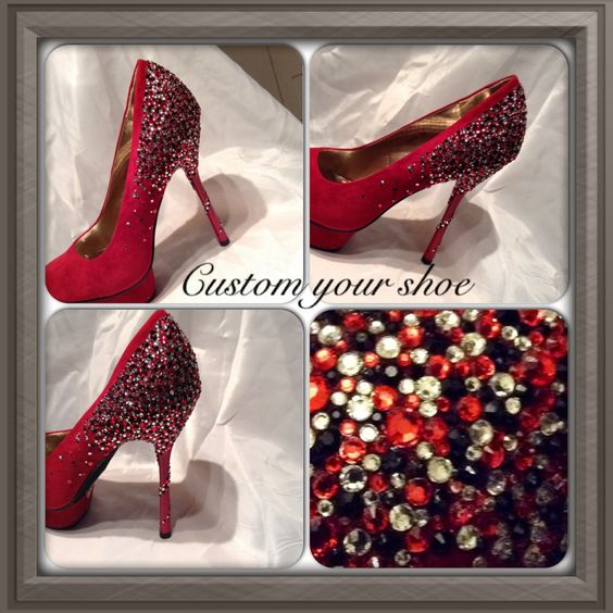 I loved making this with a spiral heel