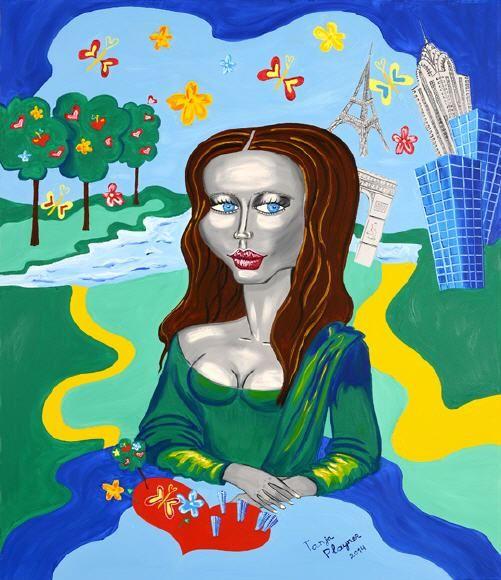 Die Frauen in der Kunst von Leticia Banegas - Kunstkritiker Heinz Playner Luxus - Lifestyle - Business - Immobilien