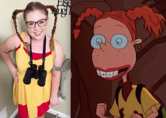 This wild Eliza Thornberry costume: