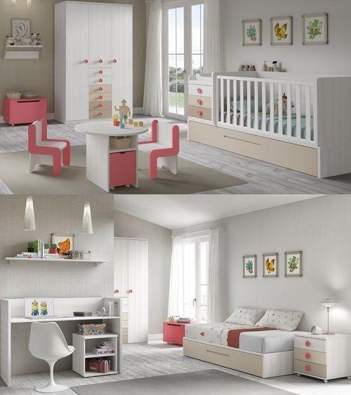 la chambre zeta est une chambre parfaite pour une petite fille le lit volutif - Lit Table A Langer
