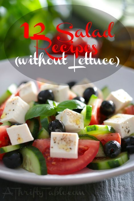 12 Salad Recipes [Without Lettuce!] - Move Love Eat - Health and Fitness Blogger
