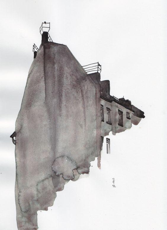 Schlesiches Tor // Sketch by Oona Leganovic