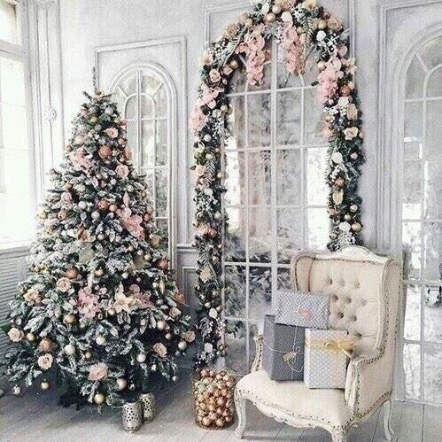 Pinterest Yagirlhannaht Pink Christmas Tree Decorations Pink Christmas Tree Pink Christmas Decorations