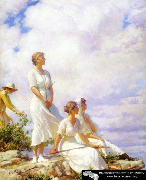 Summer Clouds Charles Courtney Curran:
