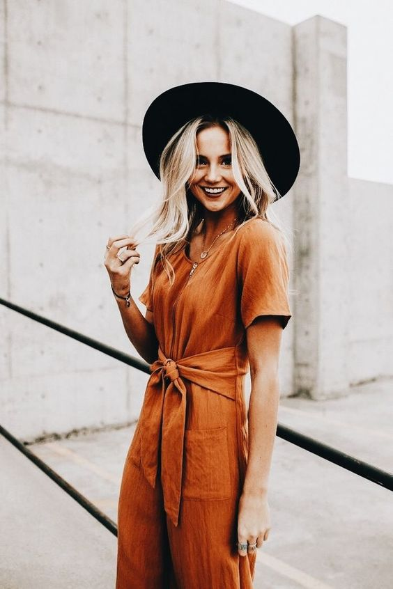 How To Wear The Newest Color Trend Of The Summer: Rustic Orange