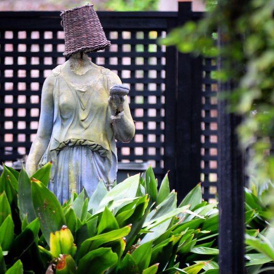 ***Charming Scene in Garden, Charleston, SC
