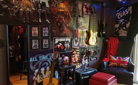 Room Decor Grunge Punk Rock 65 Ideas Punk Room Rock Bedroom Punk Rock Bedroom