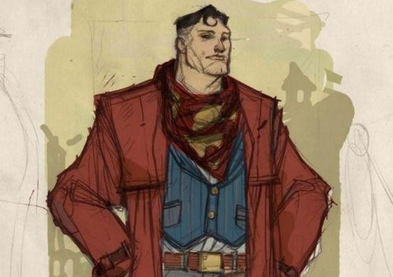 Liga de la Justicia Viejo Oeste:Superman