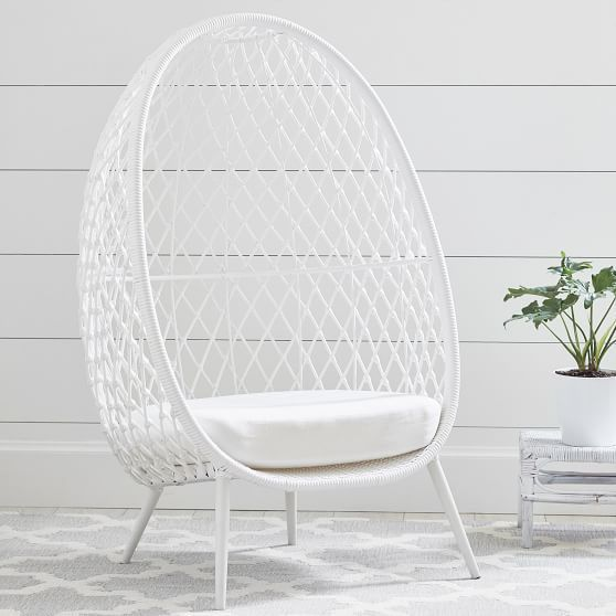 Pottery Barn Just Released An Exclusive Line With Lilly Pulitzer Cave Chair Comfy Chairs Furniture