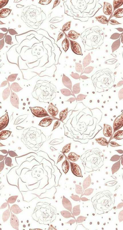 70 Ideas For Flowers Wallpaper Computer Floral Wallpapers Gold Wallpaper Background Phone Wallpaper Patterns Rose Gold Wallpaper