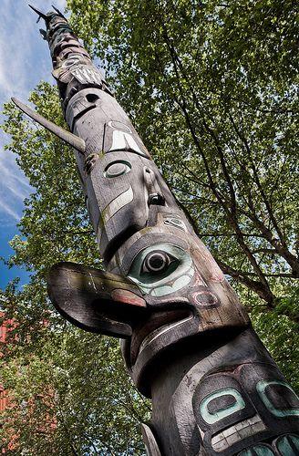 Totem Pole - Seattle, Washington