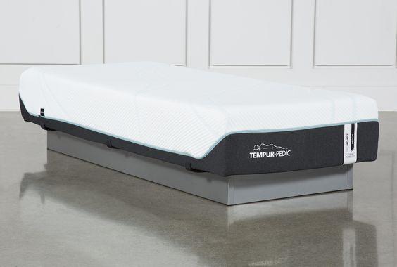Tempur Pro Adapt Medium Hybrid Twin Mattress In 2020 Mattress Twins