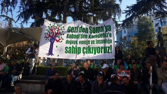 Direnişteyiz! » Trabzon, Doğaya, Emeğe ve İnsanlığa Sahip Çıkmak İçin Sokaktaydı