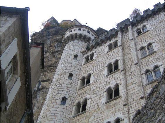 Rocamadour Episcopal Palace or Castle, France