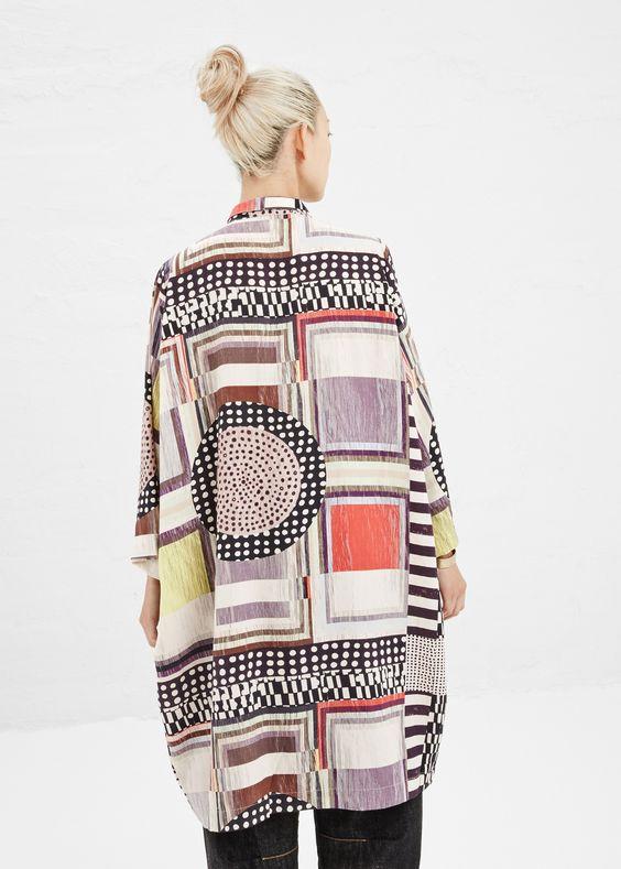 Henrik Vibskov Shy Shirt Dress (Multi)@guyafirenze.com