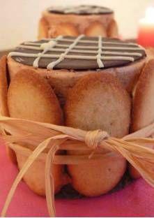 Entremet chocolat-caramel et chocolat blanc framboise