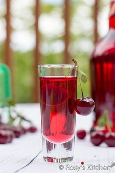 Homemade Sour Cherry Liqueur – An Easy Old Family Recipe That Stands The Test Of Time! | Roxy's Kitchen