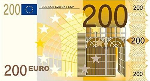 200 Euro Schein Euro Scheine Scheine Geldscheine