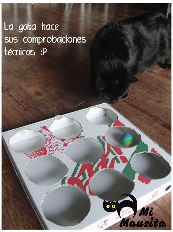 Mi Mausita ---> gatos: Juguetes caseros para gatos DIY