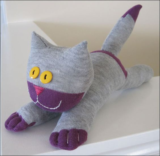 diy socks for cats how to make a sock sewing diy and toys