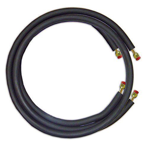 Jmf Ls1438ff15w 15 Mini Split Ready Connect Line Set 1 4 Liquid Line 3 8 Suction Line 14 4 Connect Wire Ductless Mini Split Ductless Mini