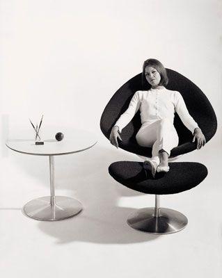 Pierre Paulin Globe Chair - 1959