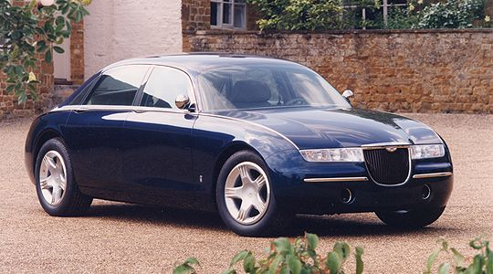 Classic Concepts: 1993 Aston Martin Lagonda Vignale - Classic Driver - MAGAZINE - features