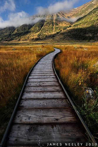 ~~Step by Step   the boardwalk at the old marina on Mono Lake, California by James Neeley~~