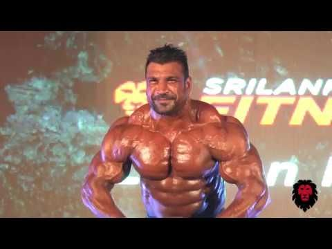 The Black Lion Of Asia Lucion Pushparaj The First Sri Lankan To Participate In This World Renowned And Successf Bodybuilding Competition Sri Lanka Black Lion