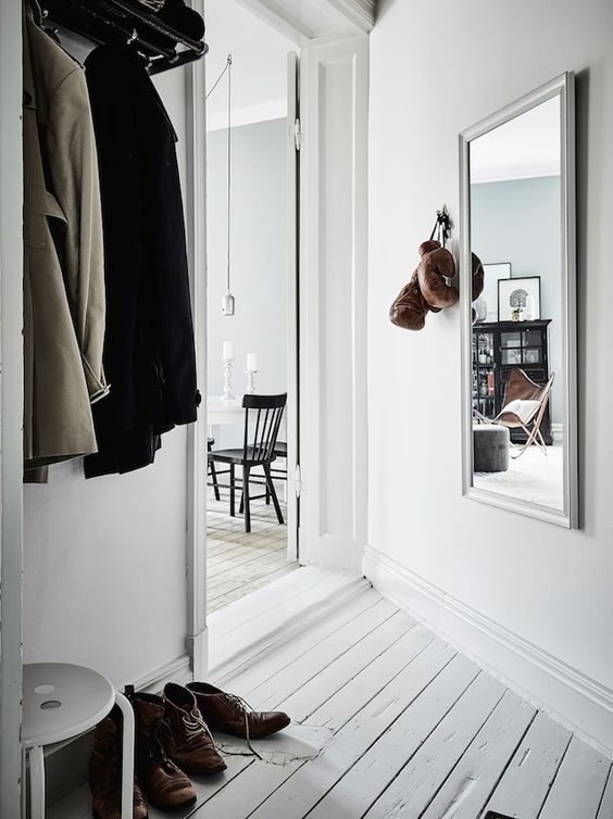 interior design harmony - Swedish home, Green accents and Scandinavian home on Pinterest