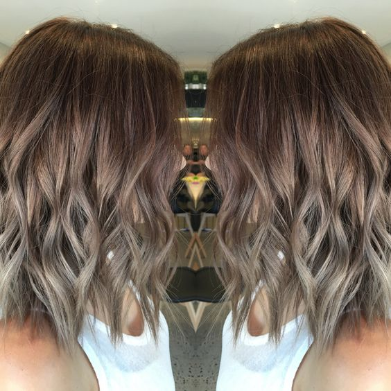 Cool brown Balayage