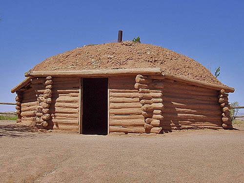 how to build a navajo hogan