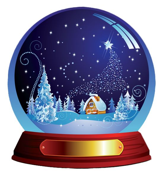 Dark Blue Christmas Snowglobe Png Clipart Christmas Snow Globes Snow Globes Custom Snow Globe