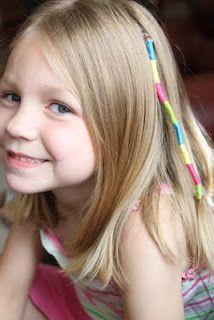 Kara's Creative Place: Colorful Hair Wraps