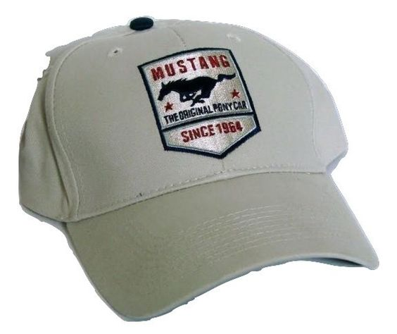 Vintage Ford Mustang the Original Pony Car Low Profile Ball Cap Never Worn