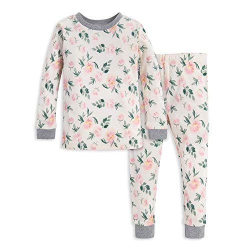Tee and Pant 2-Piece Pj Set 100/% Organic Cotton Burts Bees Baby Baby Girls Pajamas