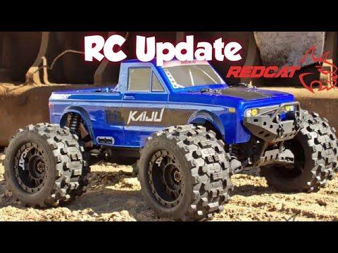 Rc Update Redcat Kaiju 8th Scale Mt Youtube In 2020 Kaiju Red Cat Scale